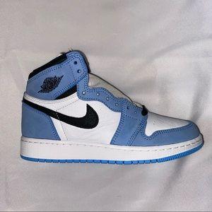 Nike Air Jordan 1 High OG GS University Blue 5Y